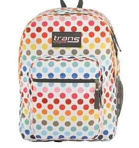 """Trans By JanSport 17"""" SuperMax Backpack - Rainbow"""